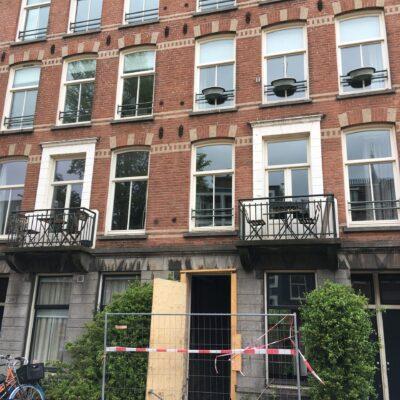 Funderingsherstel Overtoom Amsterdam