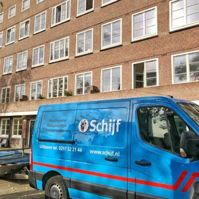 Renovatiesloop Valentijnkade Amsterdam