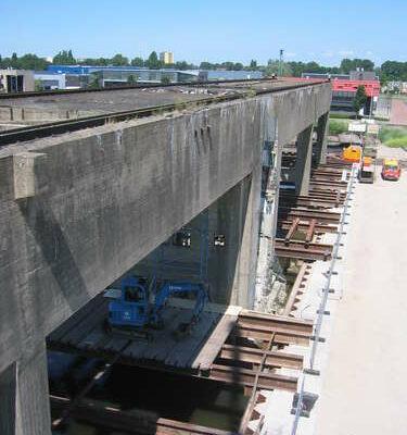2008-2009 Kraanspoor Amsterdam NDSM werf, Bouwbedrijf BotDe Nijs (1)