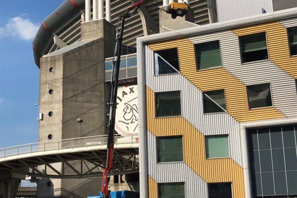 2019-27-11 Kraanwerkzaamheden tbv sloopwerkzaamheden Amsterdam Arena (1)
