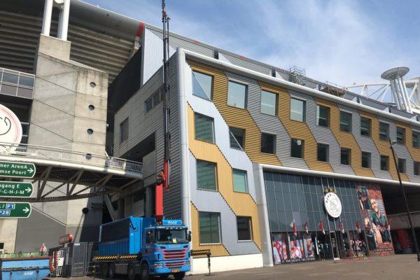 2019-27-11 Kraanwerkzaamheden tbv sloopwerkzaamheden Amsterdam Arena (2)