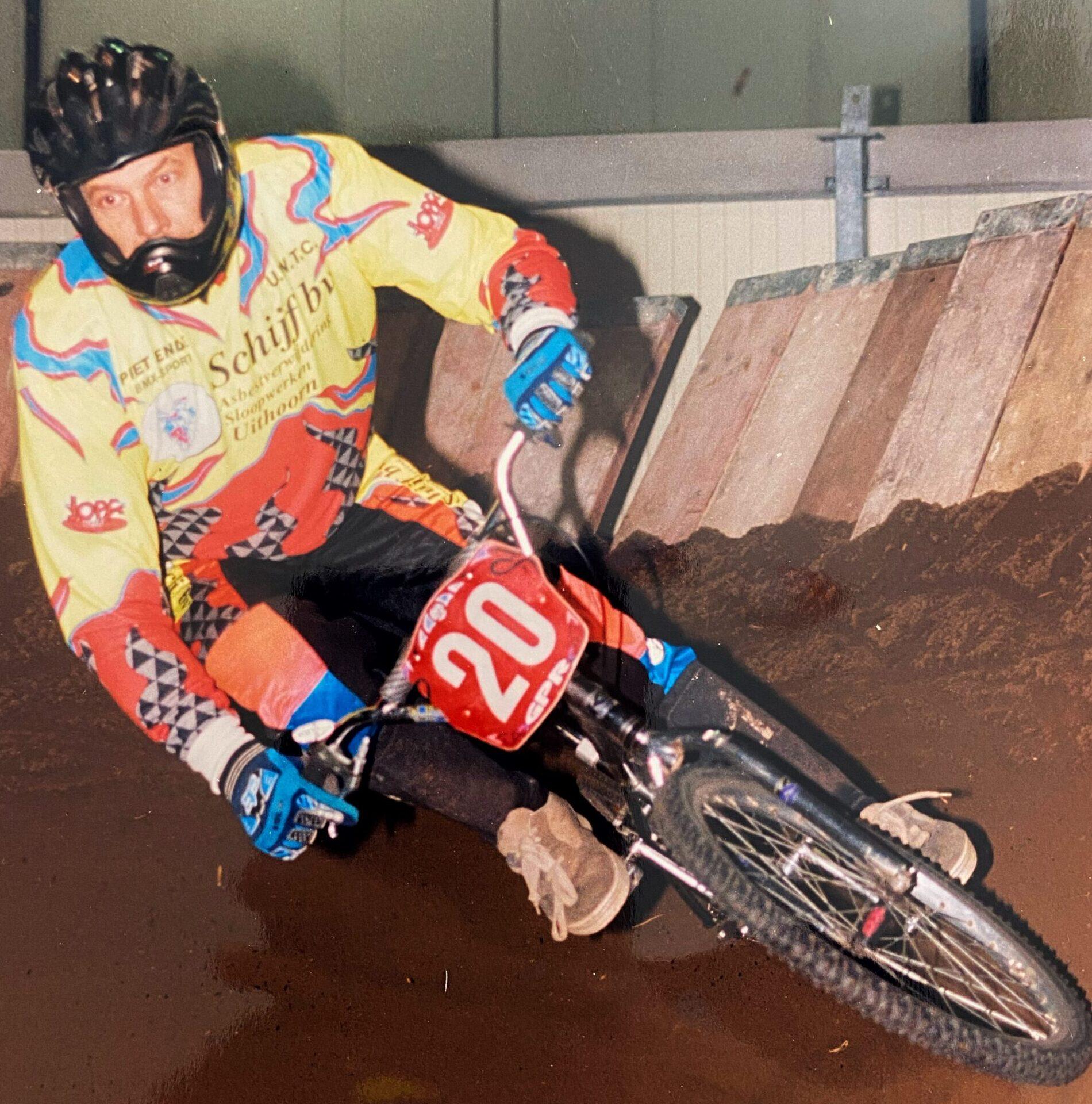 Teun Stam wereldkampioen BMX