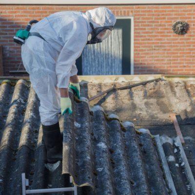 Schijf Groep - Asbestdak met golfplaten verwijderen