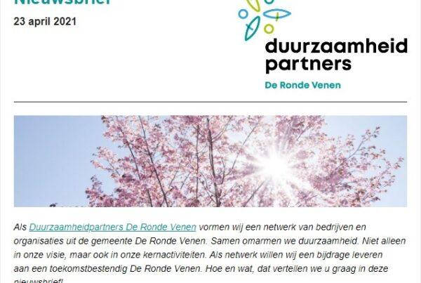 duurzame partners nieuwsbrief